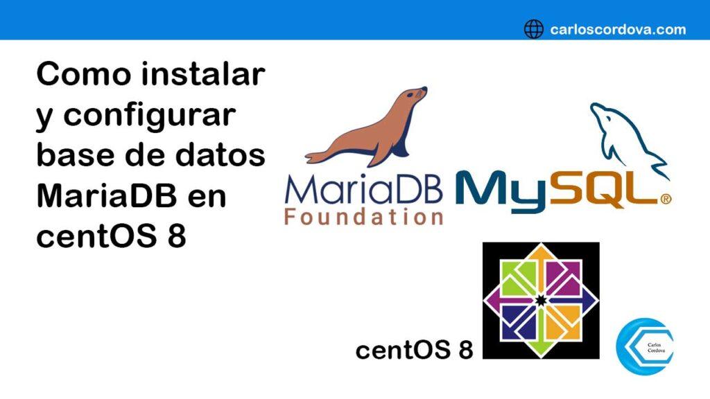 MariaDB es un sistema de gestión de bases de datos derivado de MySQL con licencia GPL