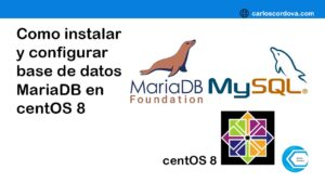 Como instalar y configurar mariaDB vs MySQL en centOS 8