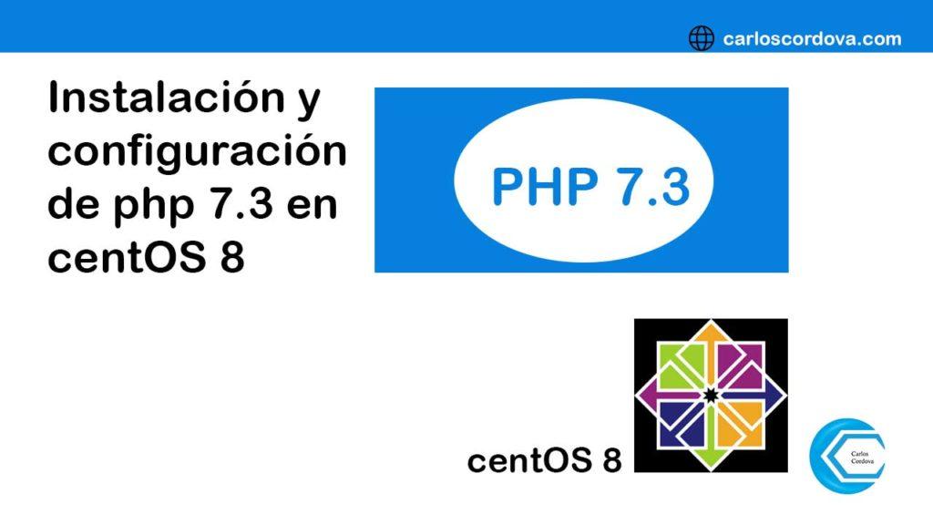 instalacion y configuracion php 7.3