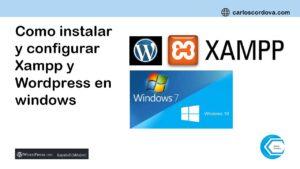 Como instalar y configurar wordpress en windows