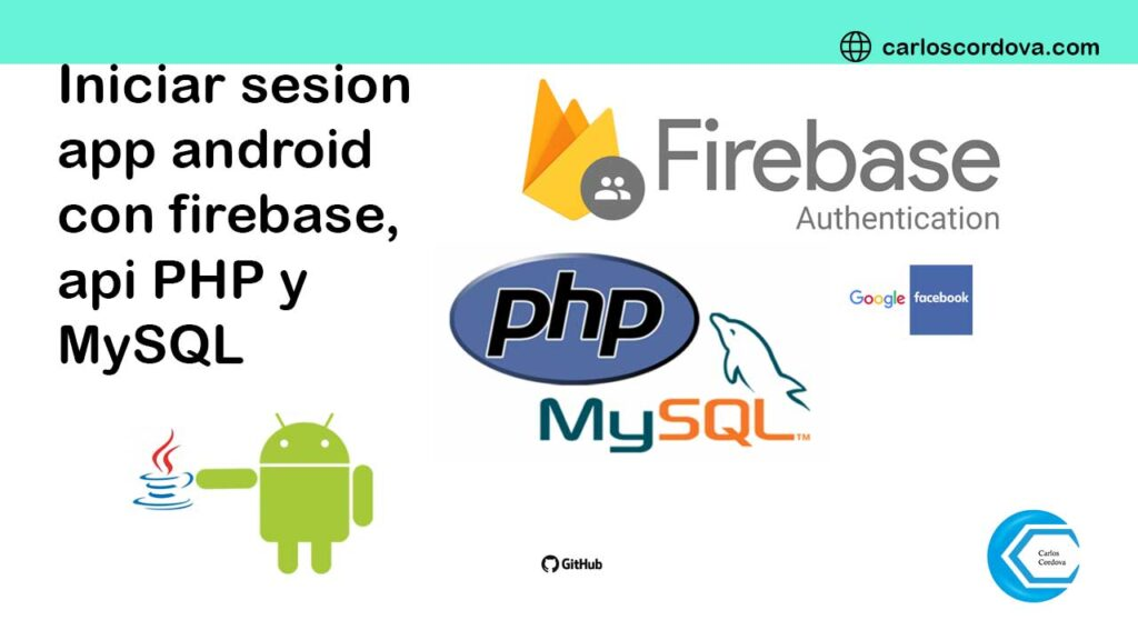 firebase, android y php mysql